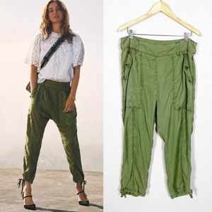 Anthropologie Cargo Harem Trouser Pant Sz 12